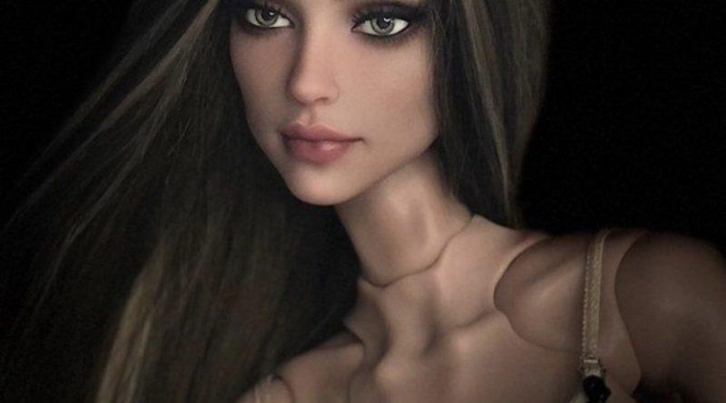 Кукла с анорексией